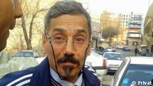 Der iranische Menschenrechtler und Jurist Abdolfattah Soltani ist am 25.06.2017 ist für vier Tage aus der Haft beurlaubt worden. Er ist seit 2011 inhaftiert und wurde wegen seiner Aktivitäten mit mehreren internationalen Preisen ausgezeichnet, u.a. in Deutschland. Rechte: Privat