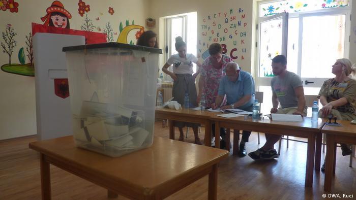 Albanien Parlamentswahlen 2017