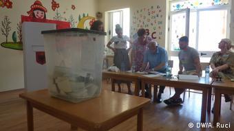 Albanien Parlamentswahlen 2017 (DW/A. Ruci)
