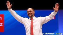 Martin Schulz, candidato a canciller del Partido Socialdemócrata alemán. en el congreso del SPD en Dortmund. (25.06.2017)