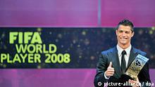 Cristiano Ronaldo Weltfussballer