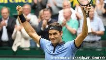 Deutschland ATP-Turnier Tennis in Halle - Federer vs. Zverev