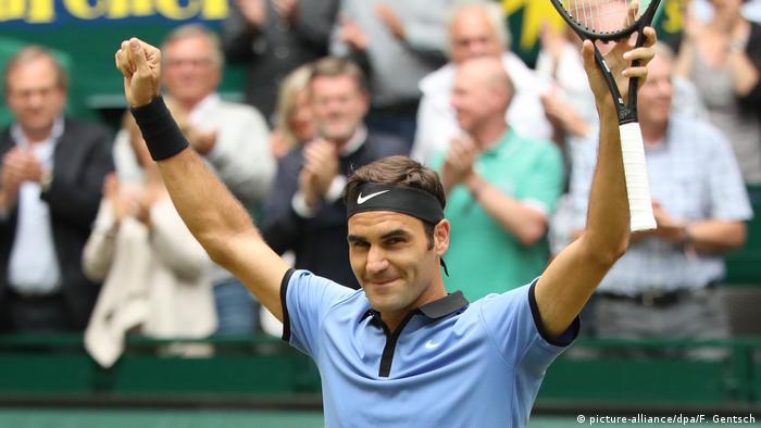 Deutschland ATP-Turnier Tennis in Halle - Federer vs. Zverev