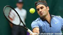 Deutschland ATP-Turnier Tennis in Halle - Federer vs. Zverev (picture-alliance/dpa/F. Gentsch)
