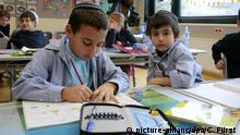 Jewish students in school