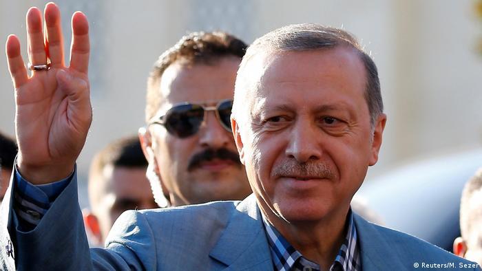 Türkei Recep Tayyip Erdogan in Istanbul (Reuters/M. Sezer)