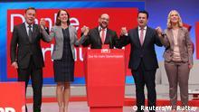 Deutschland SPD-Bundesparteitag