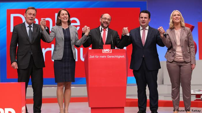 Deutschland SPD-Bundesparteitag (Reuters/W. Rattay)