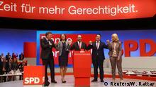 """""""Es hora de más justicia"""", consigna de socialdemócratas alemanes."""
