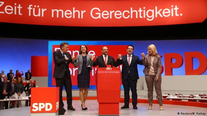 Es hora de más justicia, consigna de socialdemócratas alemanes.