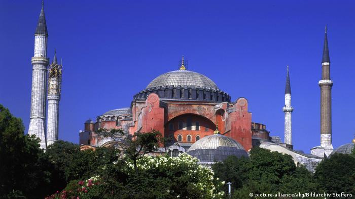 Türkei Hagia Sophia in Istanbul (picture-alliance/akg/Bildarchiv Steffens)