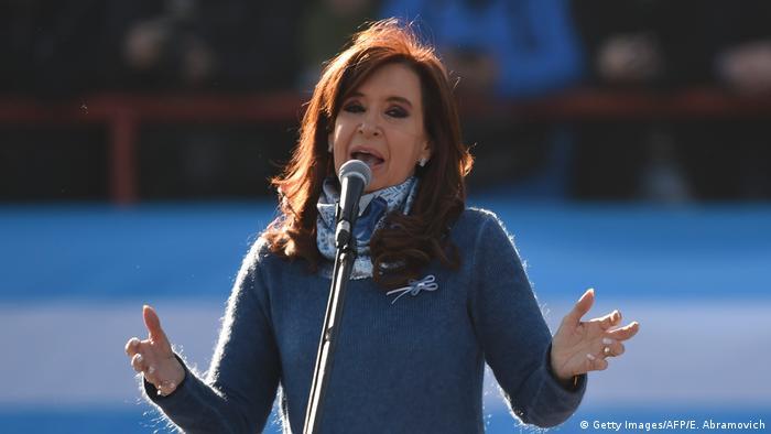 Cristina Fernández de Kirchner, candidata al Parlamento argentino