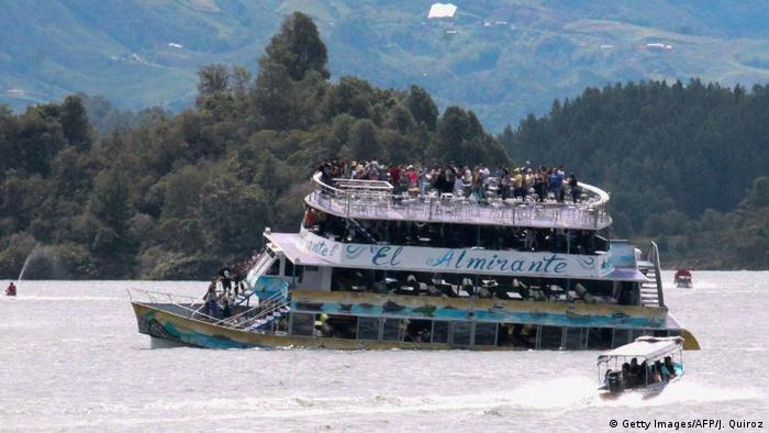 Kolumbien Schiffsunglück (Getty Images/AFP/J. Quiroz)