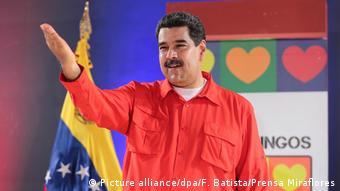 Venezuelas Präsident Nicolas Maduro (Picture alliance/dpa/F. Batista/Prensa Miraflores)