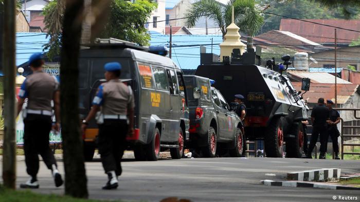 Indonesien Anschlag auf Polizeistation in Medan