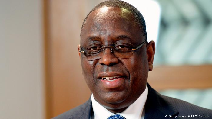 Macky Sall president of Senegal