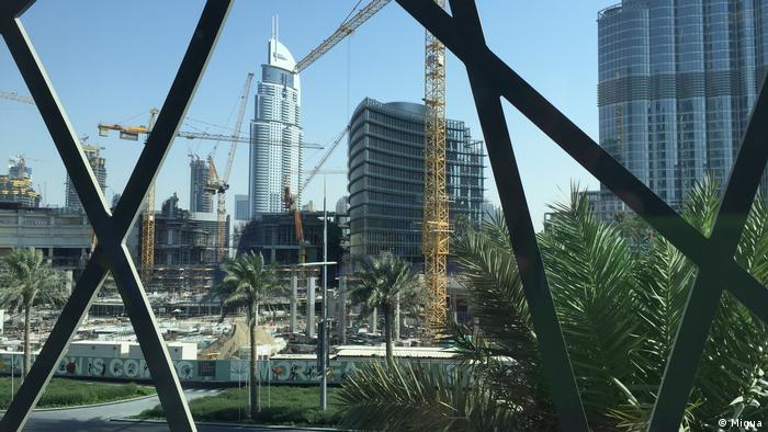 Dehnungsfungen von Migua in der Dubai Mall (Migua)