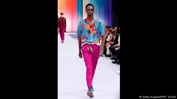 Frankreich Paris - Men's Fashion Week - Hawaihemd (Getty Images/AFP/F. Guillot)