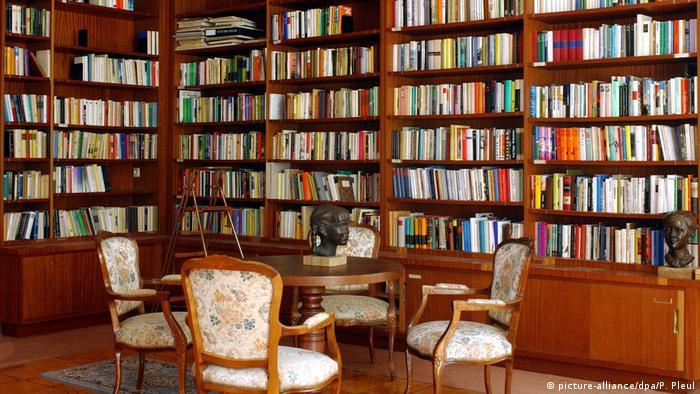 Библиотека в бывшей резиденции Вальтера Ульбрихта
