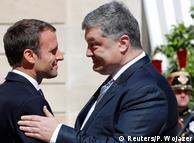 """Еммануель Макрон і Петро Порошенко домовились про нову зустріч у """"нормандському форматі"""" вже найближчими тижнями"""