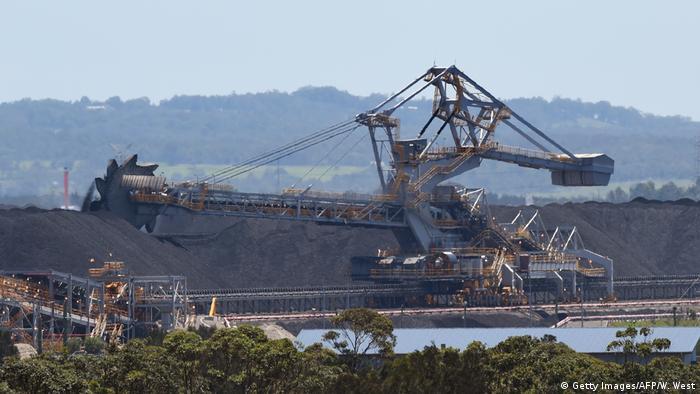 Australien Kohleförderung Port of Newcastle