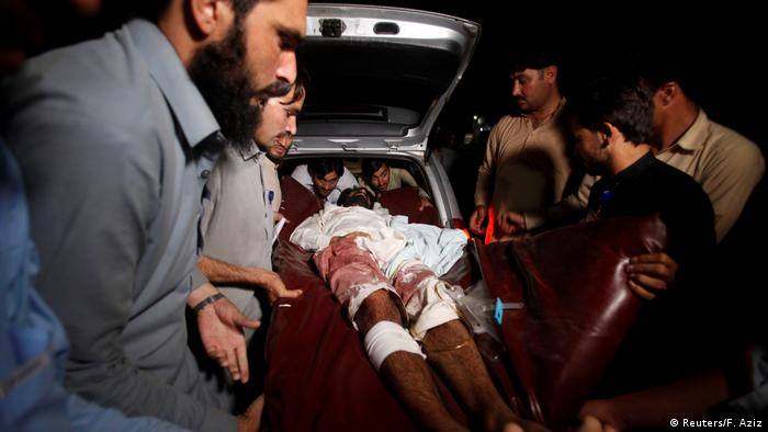 Pakistan Parachinar - Unruhen, Anschläge Verletzte (Reuters/F. Aziz)