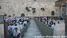 Jerusalem's Wailing Wall (picture-alliance/dpa/S. Järkel)