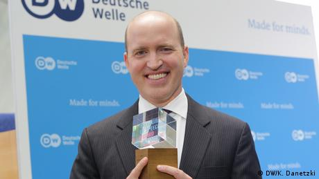 Deutschland Bonn - Deutsche Welle GMF 2017 - Freedom of Speech Award 2017: White House Correspondents' Association (DW/K. Danetzki)