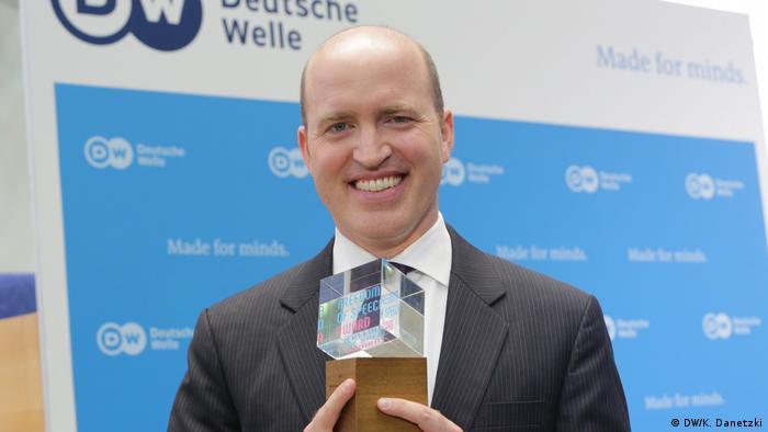 Deutschland Bonn - Deutsche Welle GMF 2017 - Freedom of Speech Award 2017: White House Correspondents' Association