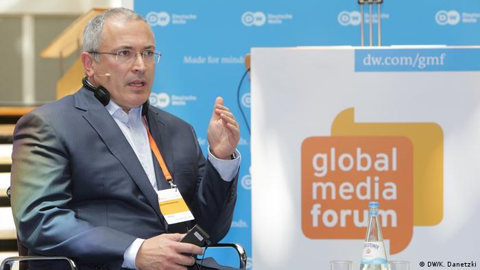 Mikhail Khodorkovsky - Founder of Open Russia, Russia (2017)