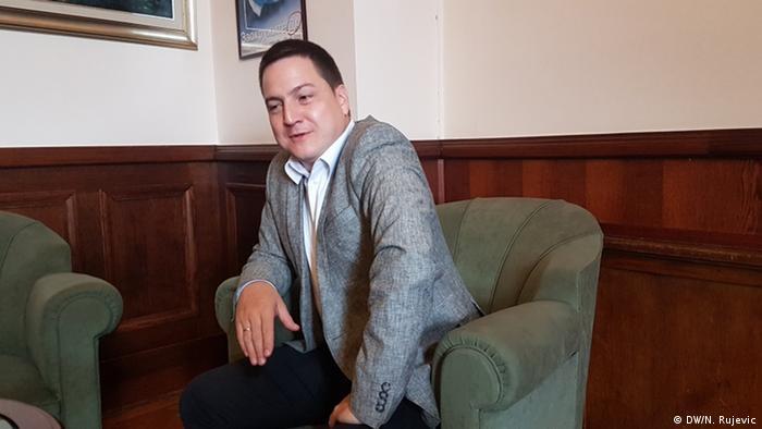 Branko Ruzic - Vizepräsident der Sozialistischen Partei Serbiens