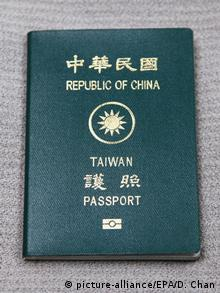 Taiwan Reisepass (picture-alliance/EPA/D. Chan)