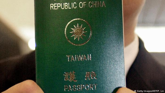Taiwan Reisepass (Getty Images/AFP/P. Lin)