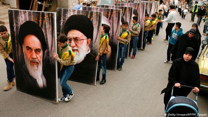 طرفداران جوان حزبالله در لبنان؛ ۱۸ مارس ۲۰۱۷