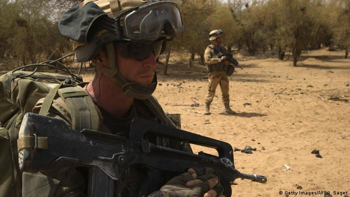 French soldiers in northern Mali