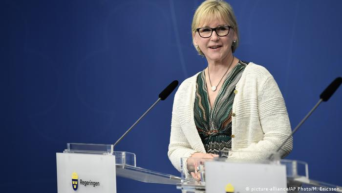 Margot Wallstrom (picture-alliance/AP Photo/M. Ericsson)