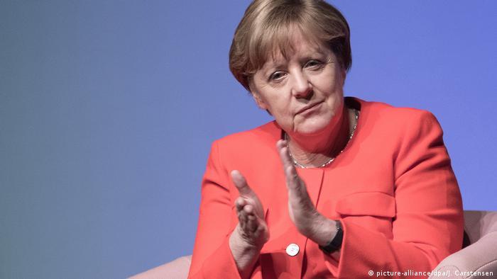 Berlin Brigitte Live Talk mit Angela Merkel