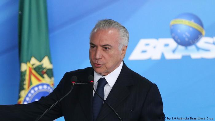 Brasilien - Präsident Michel Temer in Brasilia (CC by 3.0 Agência Brasil/José Cruz)