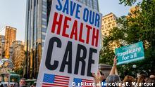 """Protest gegen """"Trumpcare"""" in New York"""