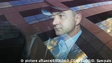 The businessman Joesley Batista, from the JBS group, left the headquarters of the Federal Police in Brasilia, capital of Brazil, yesterday, June 21, 2017, after giving new testimony in the agreement of the donation made under Operation Patmos. Joesley reported that President Michel Temer (PMDB) tried to include attorney Jose Yunes to broker an agreement with a company in ongoing legal dispute against the J & F Group. According to the executive, the deal would yield about R$ 50 million to Yunes. Photo: DIDA SAMPAIO/ESTADAO CONTEUDO   Keine Weitergabe an Wiederverkäufer.