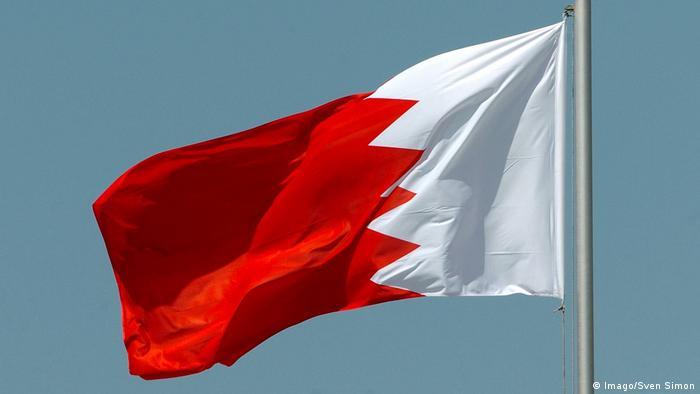 Foto ilustrasi bendera Bahrain di masa pandemi Covid-19