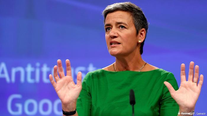 EU Kommissarin Vestager zur Google Strafe