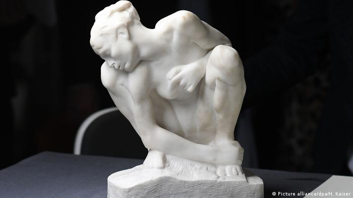 Sculpture by Auguste Rodin (Picture alliance/dpa/H. Kaiser)