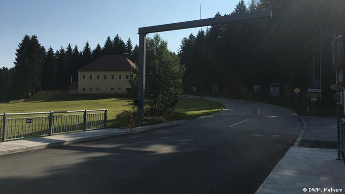 Deutschland Wegscheid Grenzübergang zu Österreich (DW/M. Melhem)