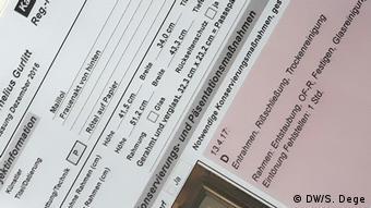 paperwork, Gurlitt exhibition