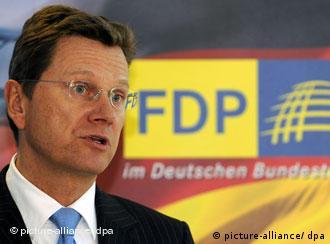 Лидер немецких либералов Гидо Вестервелле