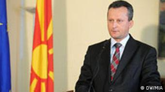 Trajko Veljanovski, Maz. Parlamentspräsident, Skopje, Mazedonien, 11.01.2008