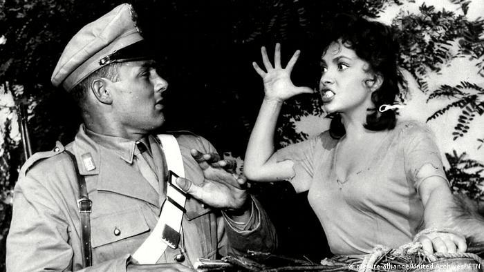 Кадр из фильма Хлеб, любовь и ревность, 1954