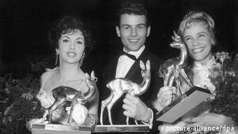 Gina Lollobrigida at Bambi Awards in 1958 (picture-alliance/dpa)