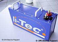 Аккумуляторная батарея li-Tec, созданная по заказу концерна Daimler
